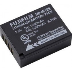 Batterie Fujifilm NP-W126 - Batterie Li-Ion