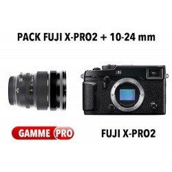 Pack Fuji X-Pro2 + 10-24mm f/4 R OIS