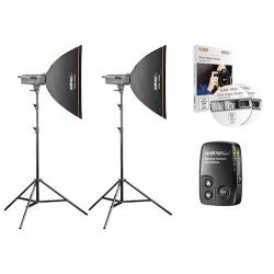 Kit Fash Studio Excellence 400 watts Artist - Walimex Pro