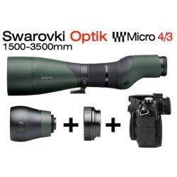 Optique Swarovski 1500-3500 mm + Kit Micro 4/3