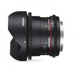 Objectif Samyang 8mm V-DSLR T3.8 CSII MKII - Canon