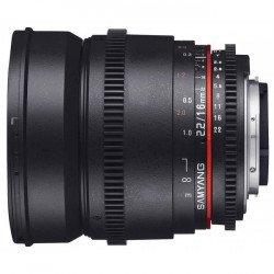 Objectifs Vidéo Samyang 16mm T2.2 V-DSLR ED AS UMC - CSII Canon