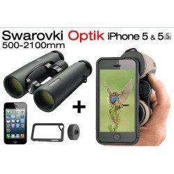 Jumelles Swarovski EL 10x42 + Kit Photo pour iphone 5/5S