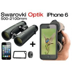 Jumelles Swarovski EL 10x42 + Kit Photo pour iphone 6
