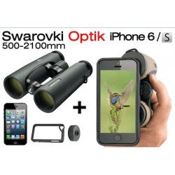 Jumelles Swarovski EL 10x42 + Kit Photo pour iphone 6S