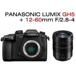 Pack Lumix DMC GH5 + 12-60mm F2.8-4 H-ES Leica OIS