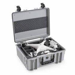 Fly Case pour Phantom 4 - B&W Copter Case Type 6000/G gris
