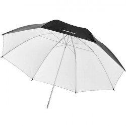 Parapluie noir / blanc 84cm - Walimex Reflex