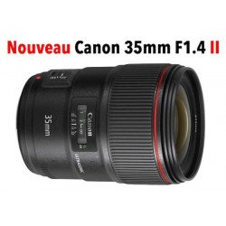 Canon EF 35mm f/1.4 L USM II - Objectif photo monture Canon