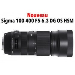 Sigma 100-400mm f/5-6.3 DG OS HSM Contemporary - Nikon