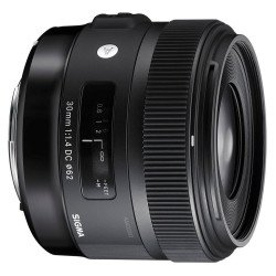 Sigma 30mm F1,4 DC HSM - Art - Objectif photo monture Canon