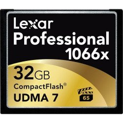 Lexar 32GB Professional 1066x Compact Flash