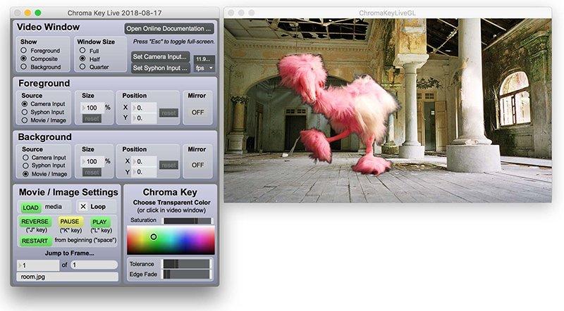 """Résultat de recherche d'images pour """"chroma key live windows"""""""